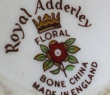 Vintage Royal Adderley Bone China Flowers Prairie Rose