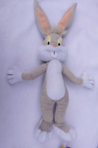 1999 Looney Tunes Bugs Bunny Plush Toy