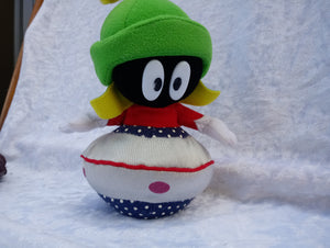Warner Bro's Marvin the Martian Plush Plush with Bean Roly Poly Base