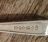 1920s Silver Plated Baby Spoon by H Fisher & Co