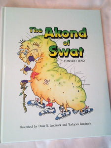 "1986 First Edition  ""The Akond of Swat""  written by Edward Lear Hardcover"