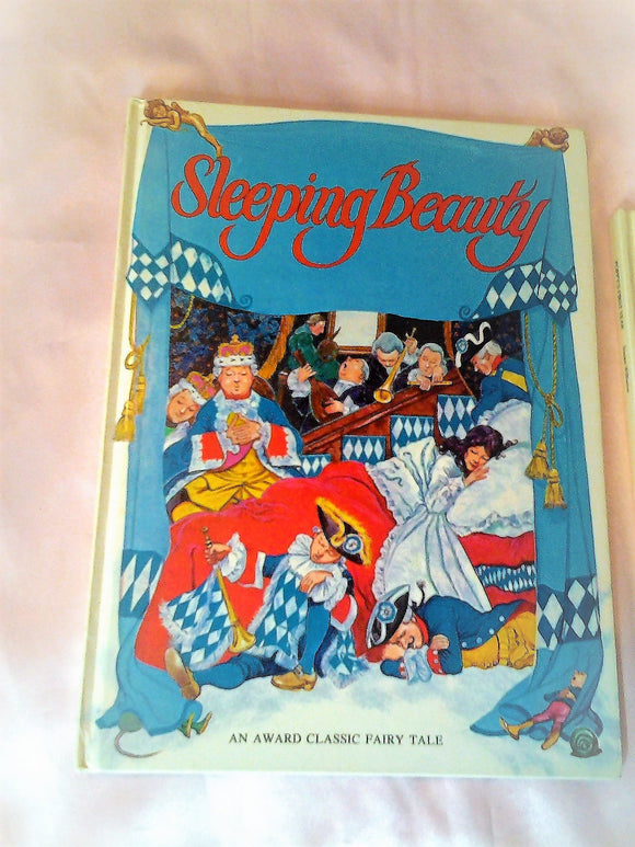 Vintage Fairy Tale Large Hardcover Book