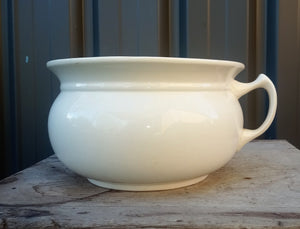 Swinnerton Vintage Antique White Chamber Pot