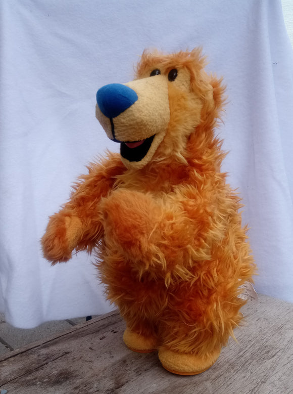 1999 Mattel Bear in Big Blue House Singing and Dancing  Cha-Cha-Cha