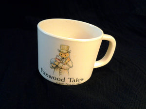 1997 Foxwood Tales Cream Melamine Childs Cup