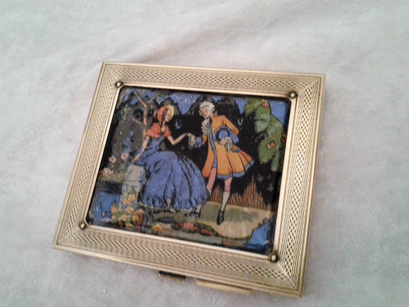 Gwenda Cigarette Case 1950s Business Credit Card Holder