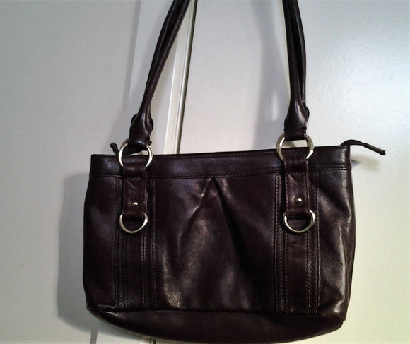 Vintage Colorado Lamb Leather Handbag