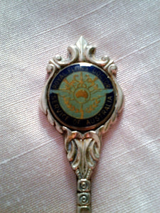 Vintage Royal Flying Doctor Service Collectors Sugar Teaspoon