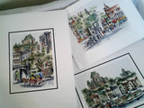Set Three Claude Roy Signed Prints from the Quebec Series