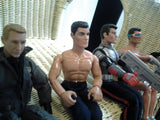 Vintage Action Man Doll Four  Bundle Boys Action Dolls