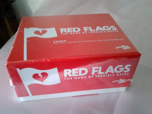 Adults Party Game - Red Flags - The Game of Terrible Dates Sealed in Box
