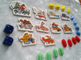 Rare Wacky Races Board Game 1969