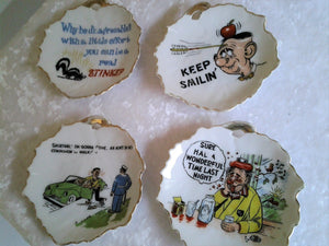 1950s Novelty Ashtrays