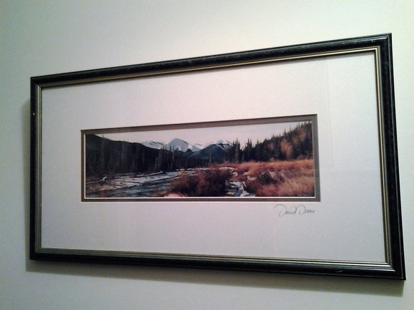 Signed Print from David Daase from Canada