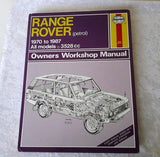 Range Rover Petrol 1970 to 1987 Owners Workshop Manual