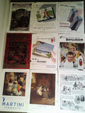 Original 1937 Large Advertisements -  -9 pages NOT PDFs or copies
