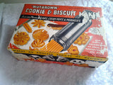 1960's Nutbrown Cookie and Biscuit maker