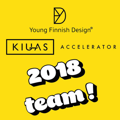 Young Finnish Design valittiin mukaan Kiuas Accelerator -startup-kiihdytysohjelmaan Startup Saunalle Espooseen. Ohjelman loppuhuipennus DEMO DAY. Young Finnish Design was selected to Kiuas Accelerator program to Startup Sauna in Espoo, Finland.