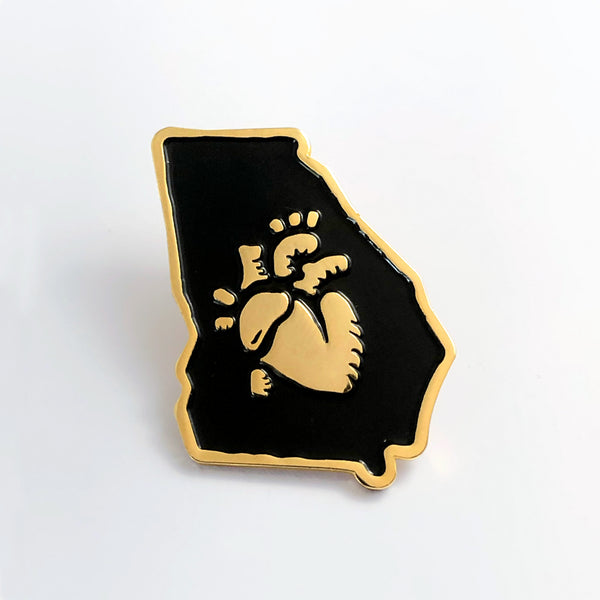 Georgia Love pin