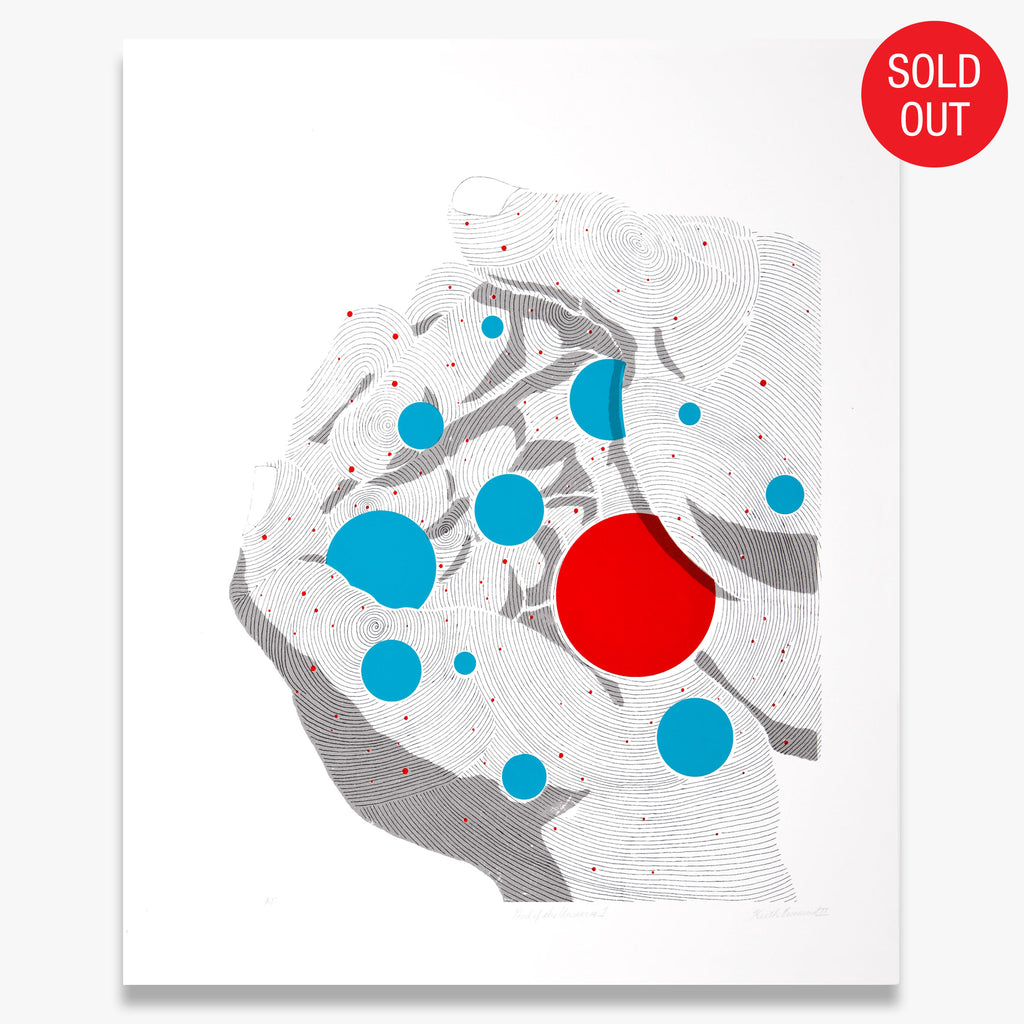 """God of the Universe 1"" – Limited Edition Screen Print"