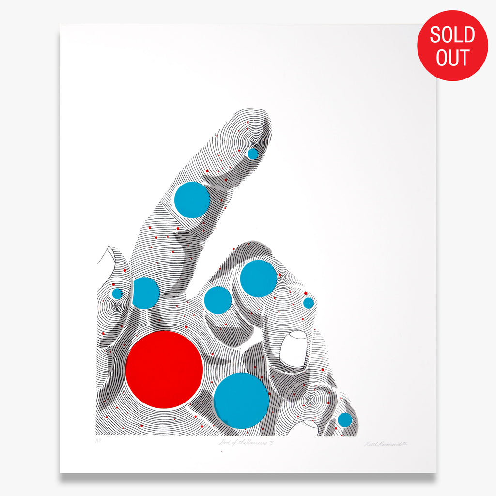 """God of the Universe 3"" – Limited Edition Screen Print"