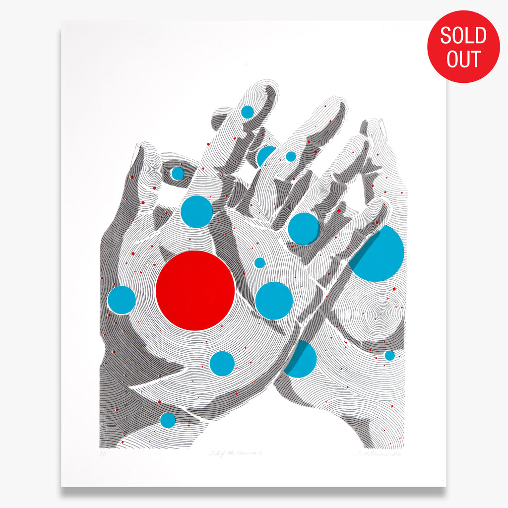 """God of the Universe 2"" – Limited Edition Screen Print"
