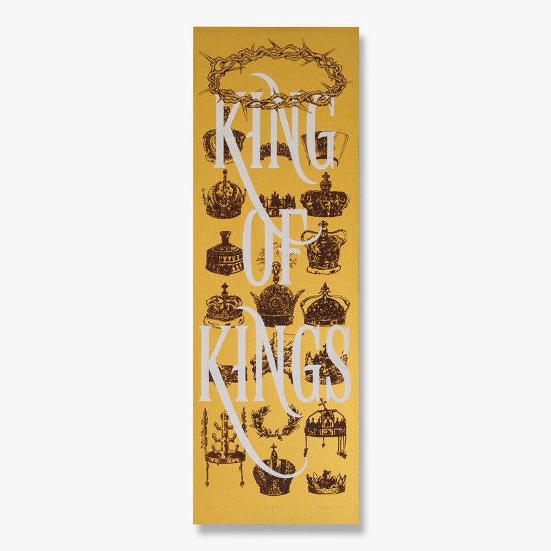 """King of Kings"" – Limited Edition Silk Screen Print"