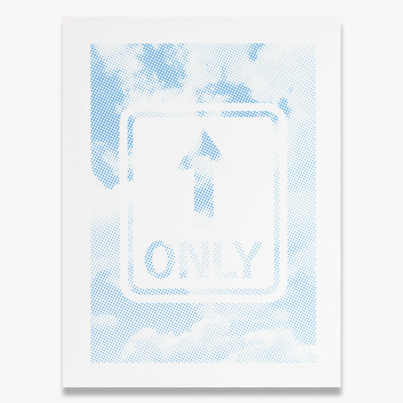 """Only Up"" – Limited Edition Silk Screen Print"