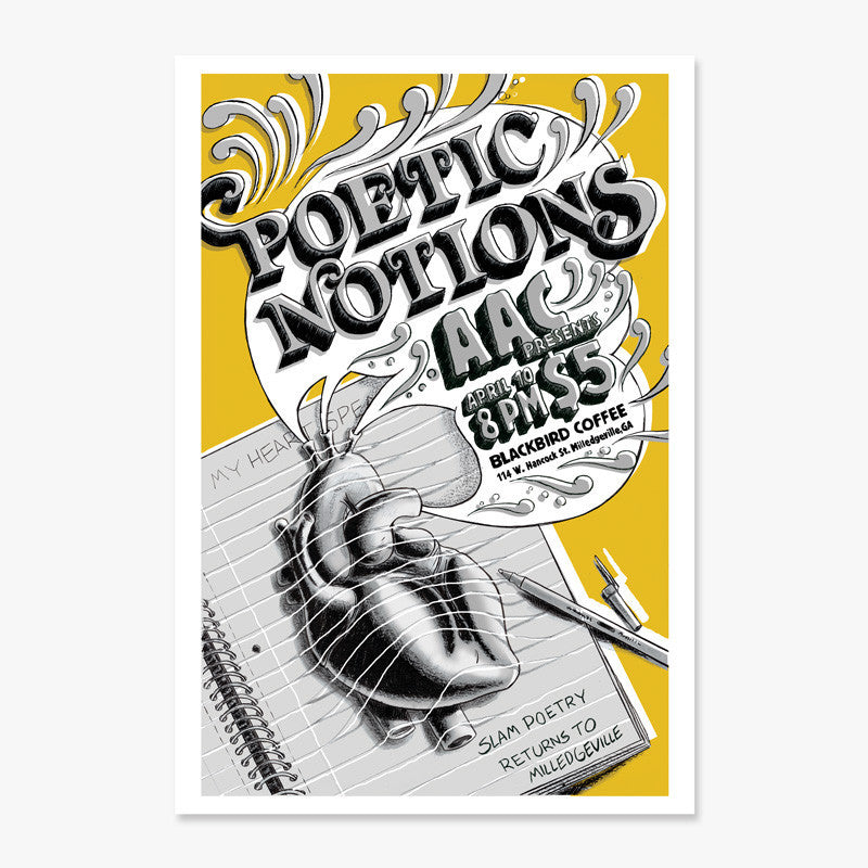 """Poetic Notions 2010"" Print"