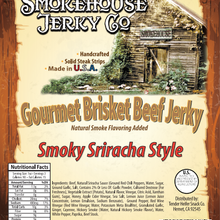 Load image into Gallery viewer, SMOKEHOUSE Smoky Sriracha Beef Jerky