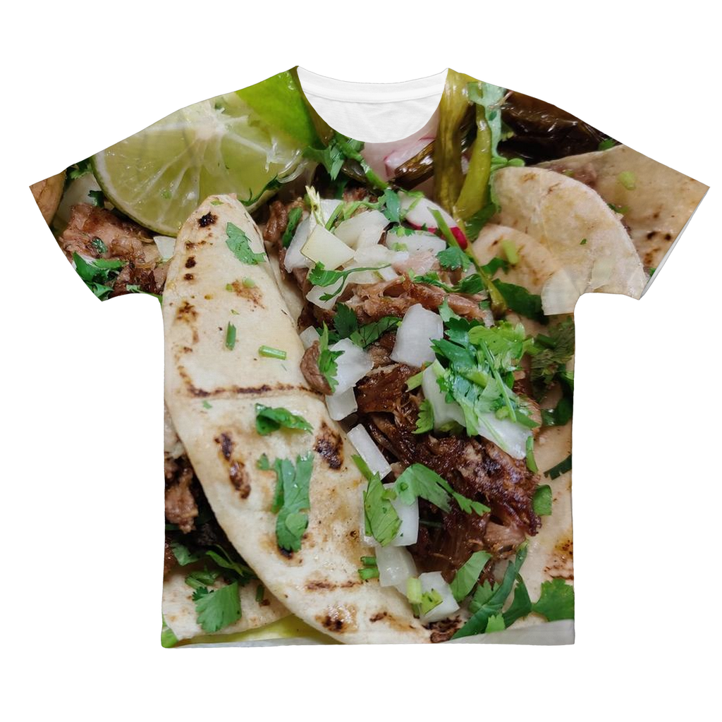 TACOS BIG Classic Sublimation Adult T-Shirt
