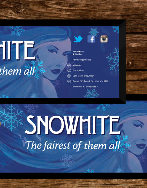 Retro Snowhite Bar Runner