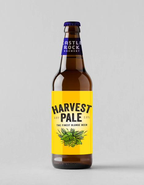 Harvest Pale Bottles - 8 X 500ML