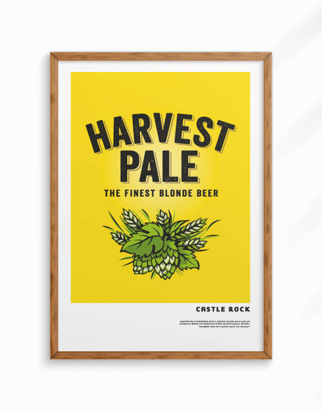 Limited Edition - Harvest Pale Giclee Fine Art Print, A3