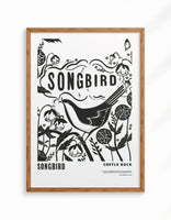 Limited Edition - Songbird Giclee Fine Art Print, A3