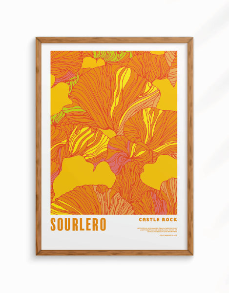 Limited Edition - Sourlero Giclee Fine Art Print, A3