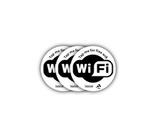 Load image into Gallery viewer, Tap Stickers - 3-pack Wifi