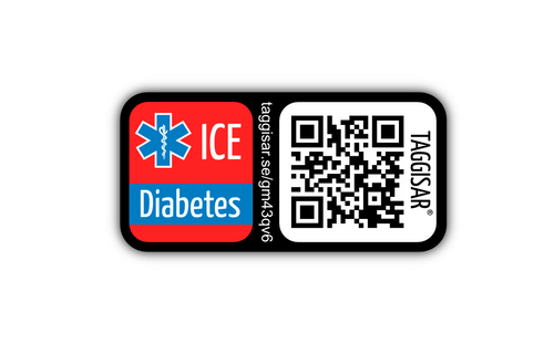 ICE stickers - Diabetes