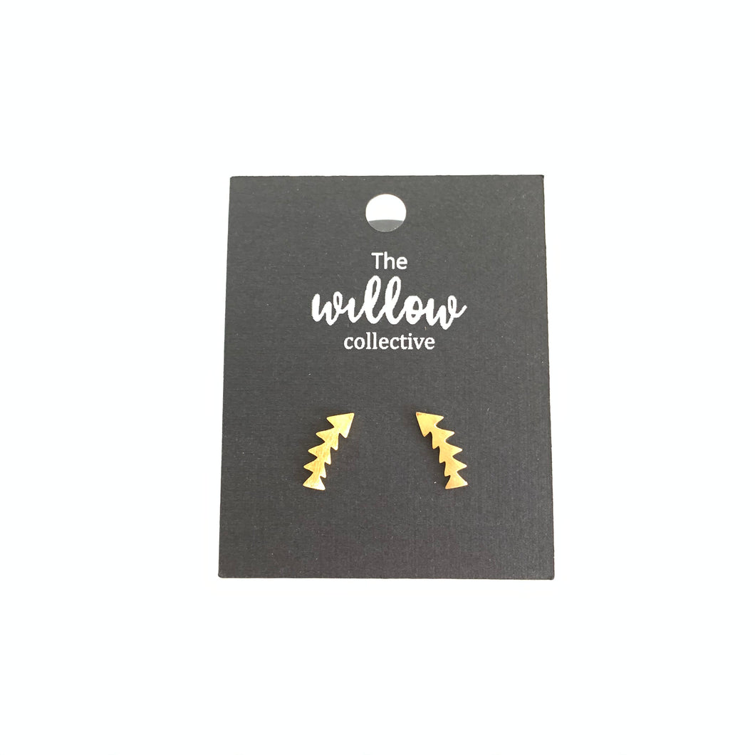 Arrow Creeper Stud Earrings