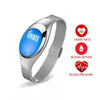 Women Smart Watch Silver