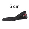 Height Increase Insole Black / 5cm