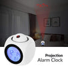 Projection Alarm Clock White