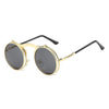 Flip Up Steampunk Sunglasses DarkGray