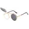 Flip Up Steampunk Sunglasses Gainsboro
