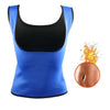 Women's Slimming Sauna Vest Blue / 4XL
