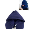 Travel Pillow with Hood Blue / 30X28X9