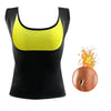 Women's Slimming Sauna Vest Black / 4XL