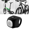 Waterproof Electric Cycle Bell Black