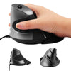 Ergonomic Vertical Laser Mouse