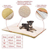 Heated Dog Bed Mat